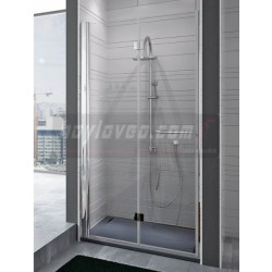Mampara ducha plegable 2...
